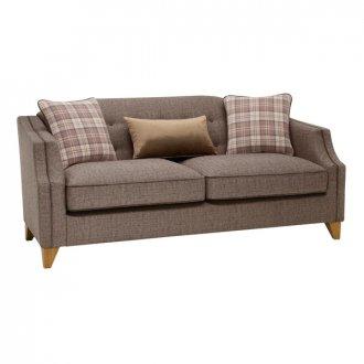 Banbury 3 Seater Sofa in Barley Coffee