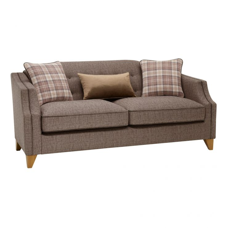 Banbury 3 Seater Sofa in Barley Coffee - Image 9