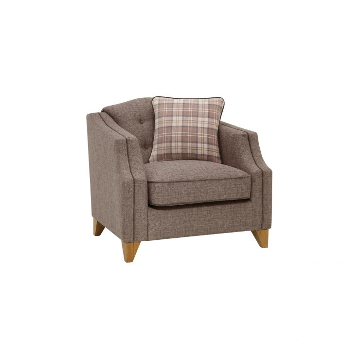 Banbury Armchair in Barley Coffee - Image 6
