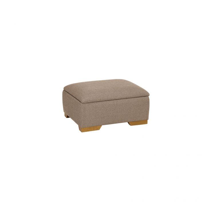 Banbury Storage Footstool in Barley Beige - Image 2