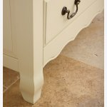 Bella Brushed Oak and Painted 1 Drawer Bedside Cabinet - Thumbnail 5