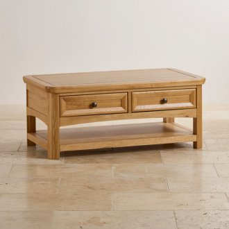 Wiltshire Natural Solid Oak Coffee Table