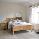 "Bevel Solid Oak 4ft 6"" Double Bed - Thumbnail 5"