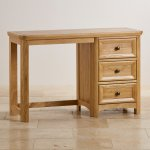 Wiltshire Natural Solid Oak Dressing Table - Thumbnail 2