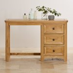 Wiltshire Natural Solid Oak Dressing Table - Thumbnail 4