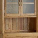 Bevel Natural Solid Oak Small Dresser - Thumbnail 6
