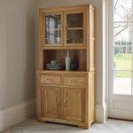 Bevel Natural Solid Oak Small Dresser - Thumbnail 4