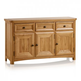 Wiltshire Natural Solid Oak Large Sideboard