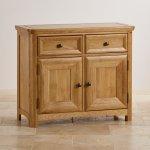 Wiltshire Natural Solid Oak Small Sideboard - Thumbnail 2