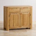 Romsey Natural Solid Oak Small Sideboard - Thumbnail 2