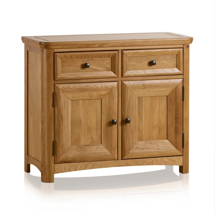 Wiltshire Natural Solid Oak Small Sideboard - Image 5