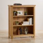 Wiltshire Natural Solid Oak Small Bookcase - Thumbnail 3