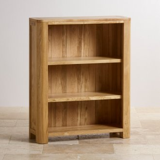Romsey Natural Solid Oak Small Bookcase