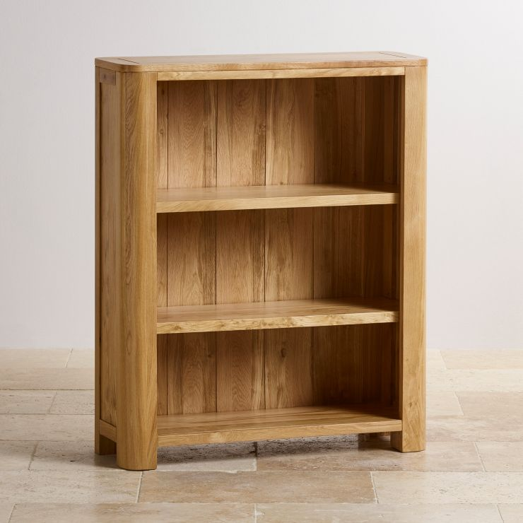 Romsey Natural Solid Oak Small Bookcase - Image 5