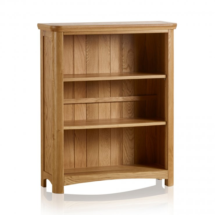Wiltshire Natural Solid Oak Small Bookcase - Image 5