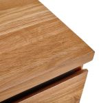 Boston Natural Solid Oak and Metal 2+3 Chest of Drawers  - Thumbnail 5