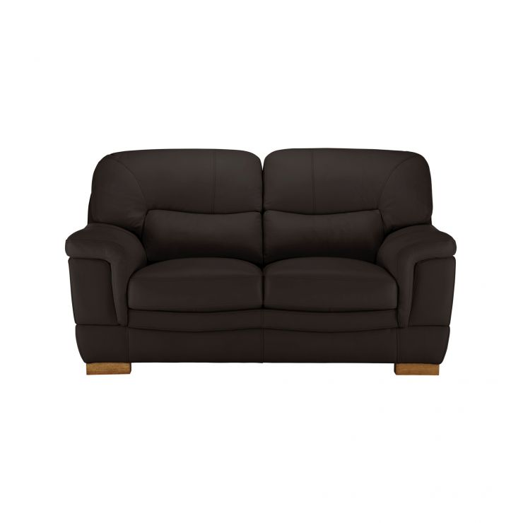 Brandon 2 Seater Sofa - Brown Leather