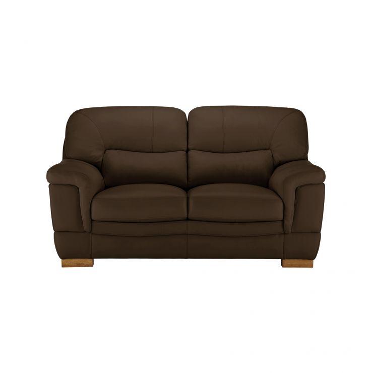 Brandon 2 Seater Sofa - Light Brown Leather