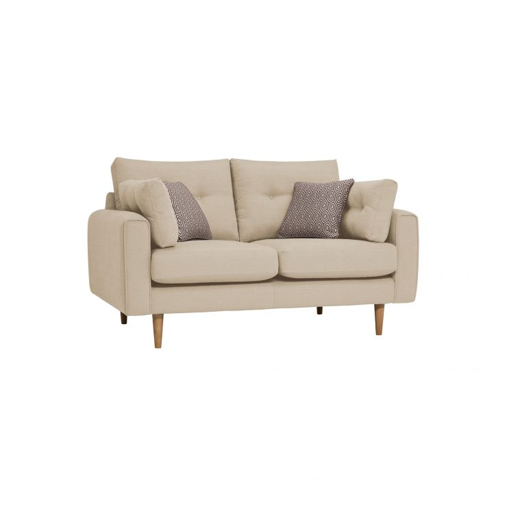 Brighton Parchment 2 Seater Sofa with Parchment Scatters