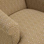 Brighton Patterned Saffron Accent Chair - Thumbnail 5