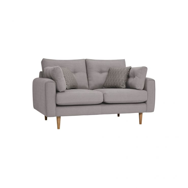 Brighton Pebble 2 Seater Sofa with Charcoal Scatters