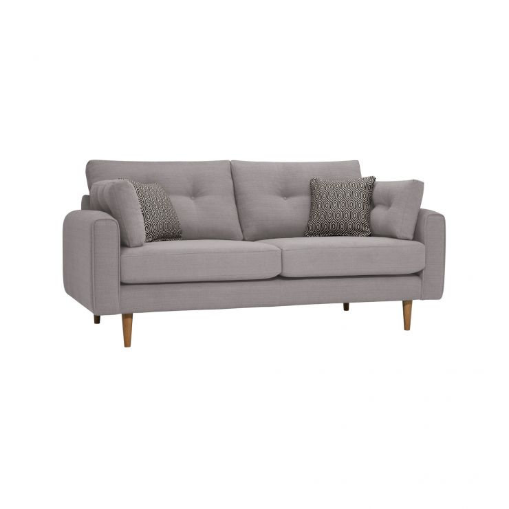 Brighton Pebble 3 Seater Sofa with Charcoal Scatters
