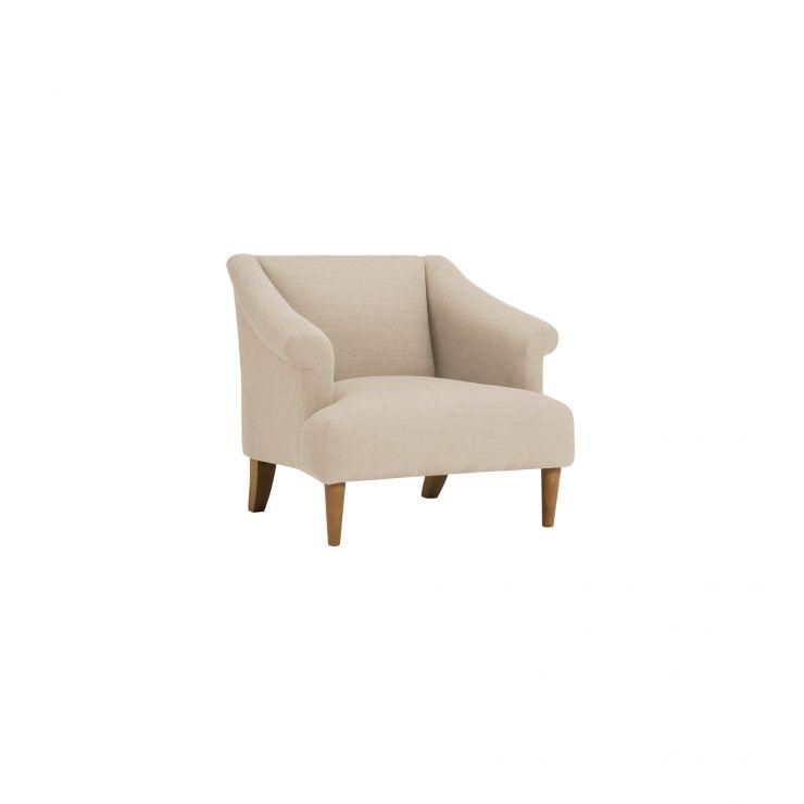 Brighton Plain Parchment Accent Chair