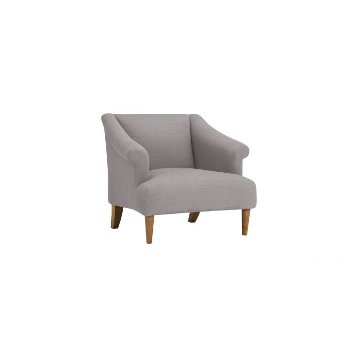 Brighton Plain Pebble Accent Chair
