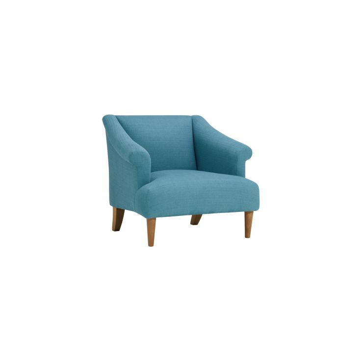 Brighton Plain Sea Spray Accent Chair