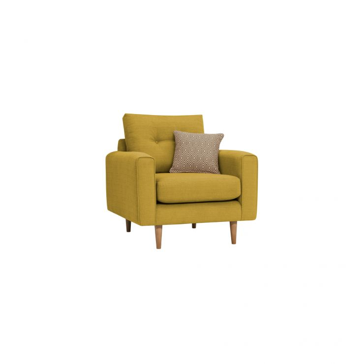 Brighton Saffron Armchair with Saffron Scatter