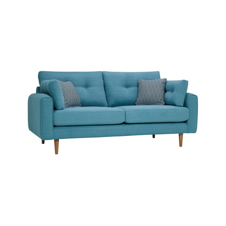 Brighton Sea Spray 3 Seater Sofa with Sea Spray Scatters