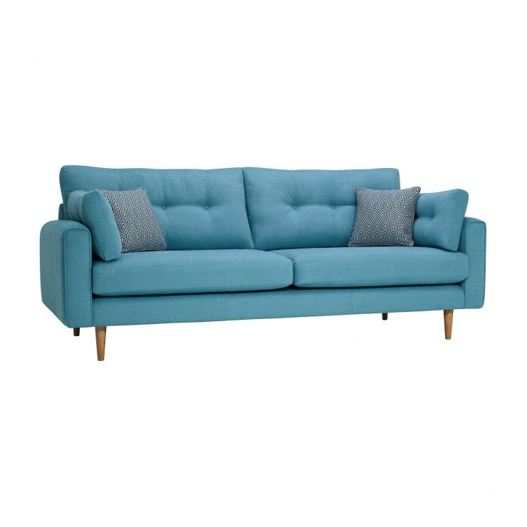 Brighton Sea Spray 4 Seater Sofa with Sea Spray Scatters