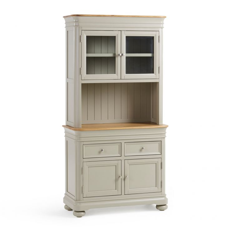 Brindle Natural Oak and Painted Small Dresser