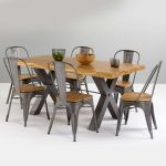Brooklyn Dining Table with 6 Brooklyn Chairs - Thumbnail 2