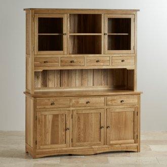 Cairo Natural Solid Oak Large Dresser
