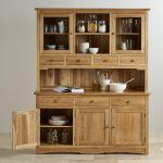 Cairo Natural Solid Oak Large Dresser - Thumbnail 7