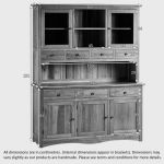 Cairo Natural Solid Oak Large Dresser - Thumbnail 8