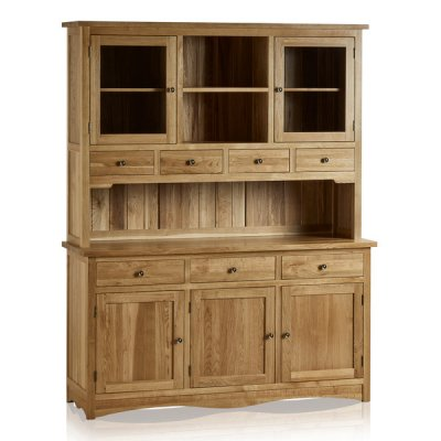 Cairo Natural Solid Oak Large Dresser