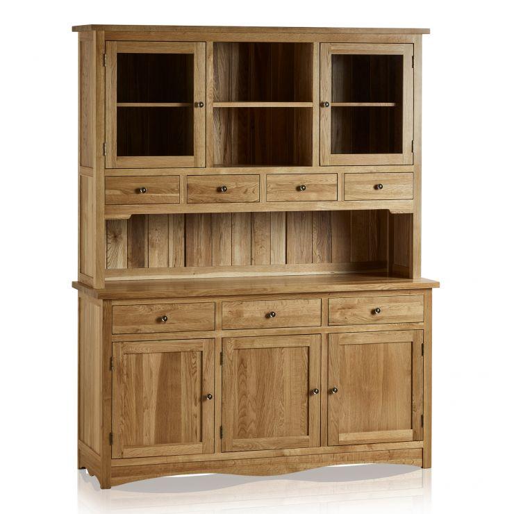 Cairo Natural Solid Oak Large Dresser - Image 8