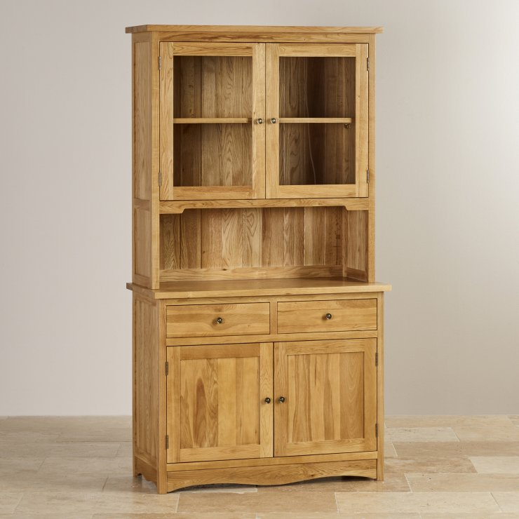 Cairo Natural Solid Oak Small Dresser - Image 4