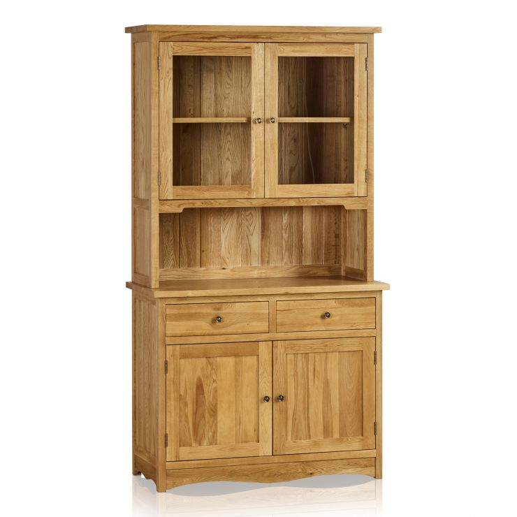 Cairo Natural Solid Oak Small Dresser - Image 5