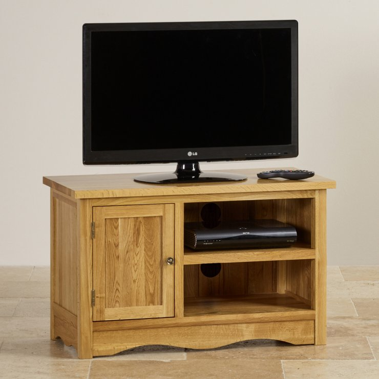 Cairo Natural Solid Oak Small TV Cabinet