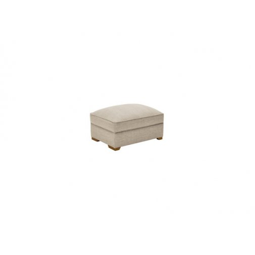California Large Storage Footstool in Civic Stone