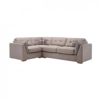 California Right Hand High Back Corner Sofa in Civic Smoke