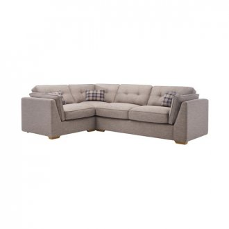 California Right Hand High Back Corner Sofa in Civic Smoke