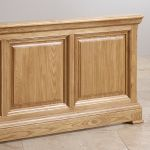 """Canterbury Natural Solid Oak 4ft 6"""" Double Bed - Thumbnail 4"""