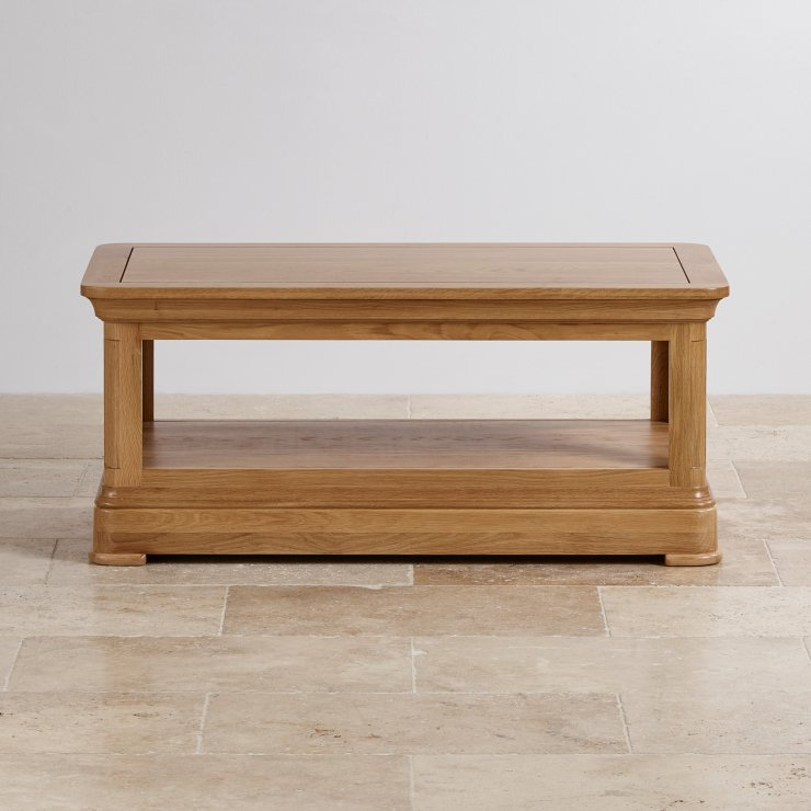 Canterbury Natural Solid Oak Coffee Table