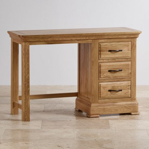 Canterbury Natural Solid Oak Dressing Table