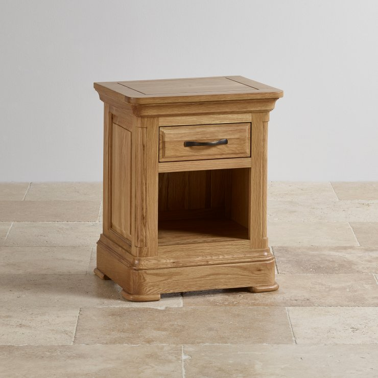 Canterbury Natural Solid Oak Side Table