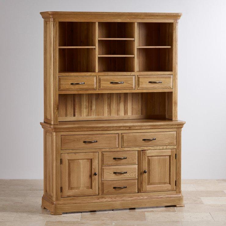 Canterbury Natural Solid Oak Large Dresser